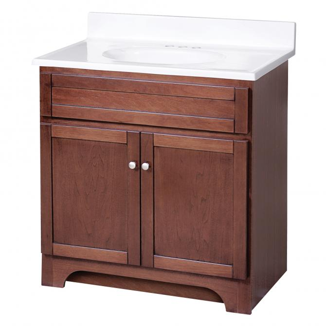 Columbia 30 Vanity Combo With Top Planet Granite