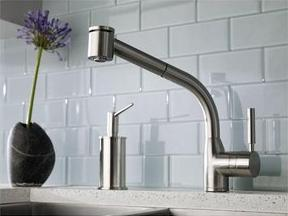 kitchen faucet - planet granite
