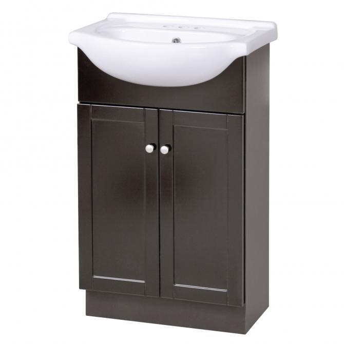 Columbia 22 euro vanity combo with top planet granite - Euro bathroom vanity combo set ...