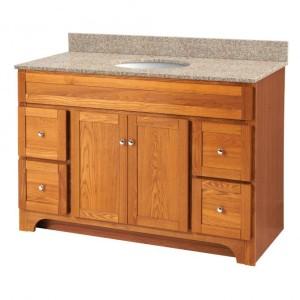 Worthington Oak 48in Vanity (no top)