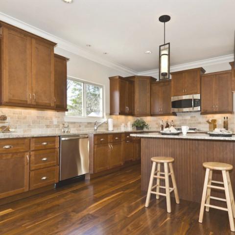Kitchen Cabinets Ideas walnut shaker kitchen cabinets : Shaker Walnut Tall Cabinets - Planet Granite