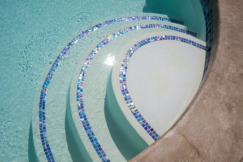 Pool Tile Designs - Planet Granite